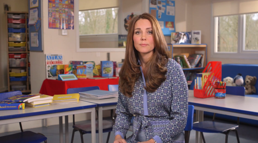 The Duchess of Cambridge supports UK's first Children's Mental Health Week with new video