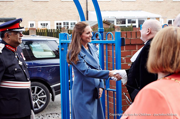 Kate arrives in Smethwick