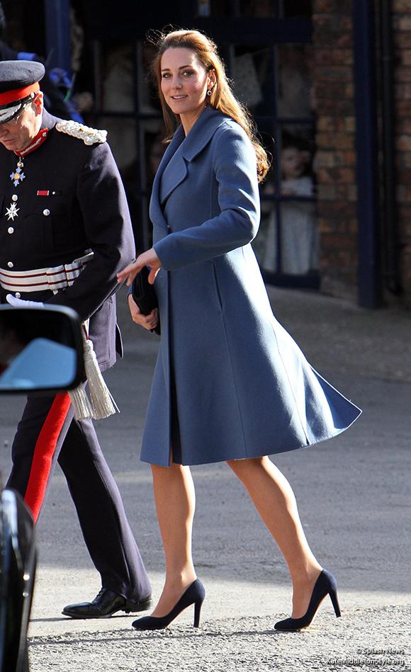 Duchess of Cambridge visits Emma Bridgewater in Stoke