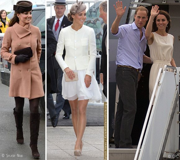 Kate wearing Joseph in 2011-13