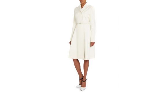 The Max Mara Villar coat on the model