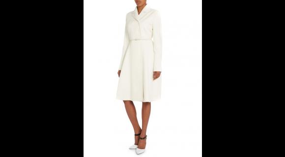 The Max Mara Villar coat on the model