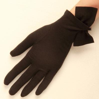 Cornelia James Imogen Gloves in Brown