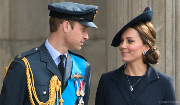 The Duke and Duchess of Cambridge attend the Afghanistan Commemoration Service