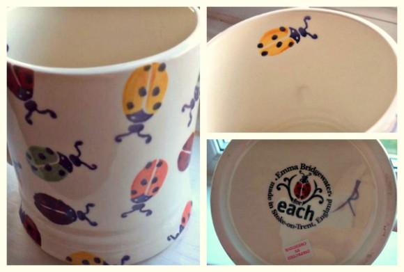 Emma Bridgewater EACH mug