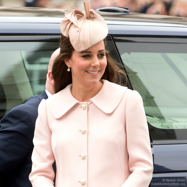 Duchess of Cambridge at the Commonwealth Observance Service 2015