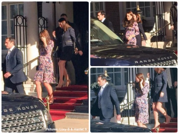 Kate at The Goring Hotel
