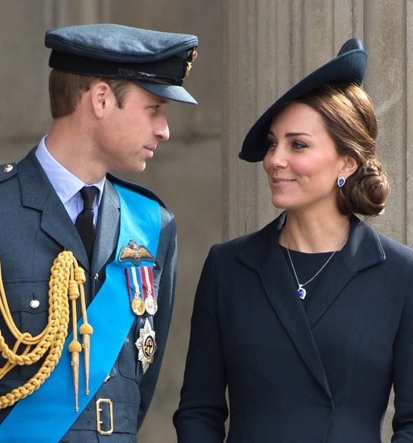 Kate Middleton and Prince William at St. Paul's Cathedral for the Afghanistan Service in 2015