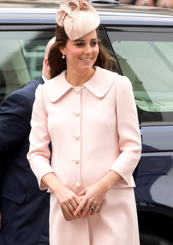 Kate Middleton at the 2015 Commonwealth Observance Service