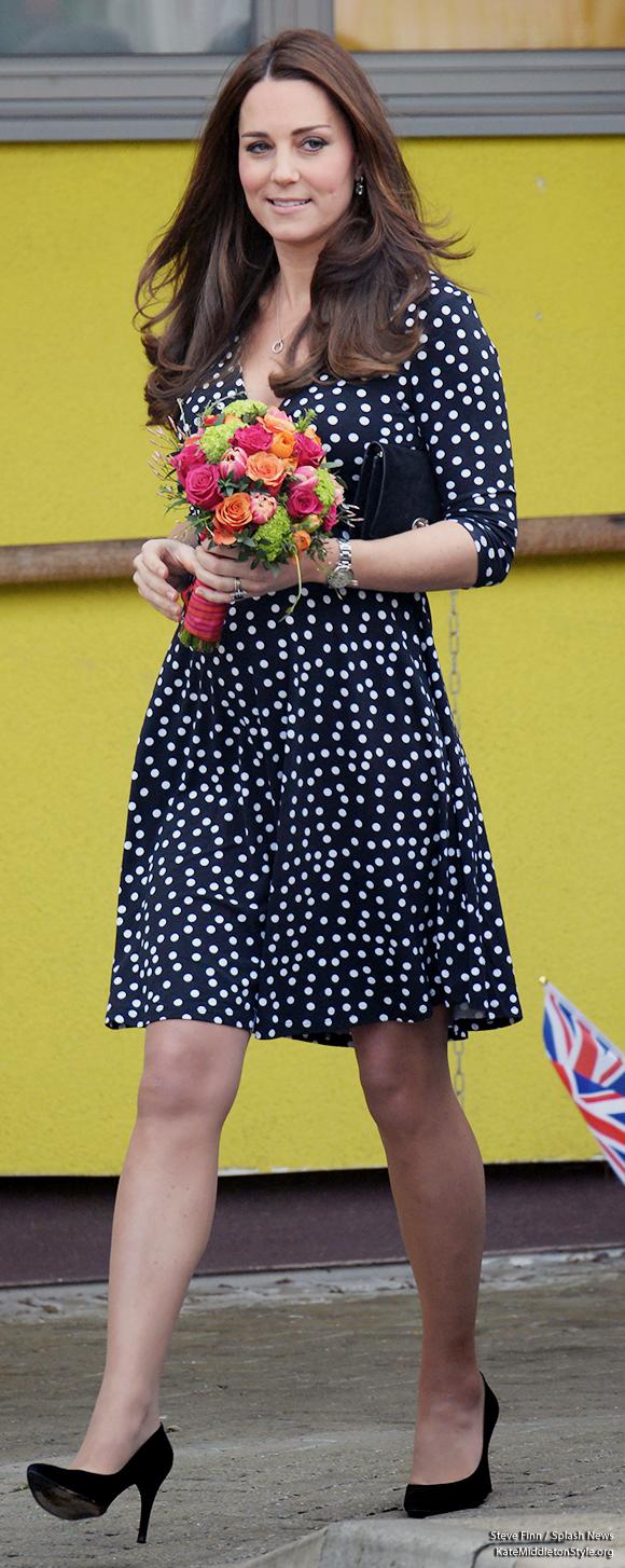 Kate Middleton Asos Maternity Dress