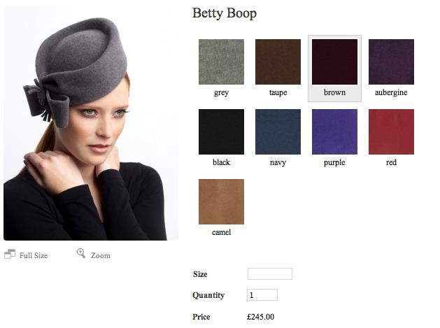 Lock & Co Betty Boop Hat