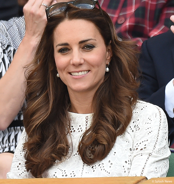 The Duchess of Cambridge wears Zimmermann to Wimbledon 2014