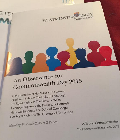 Commonwealth Day Service Programme
