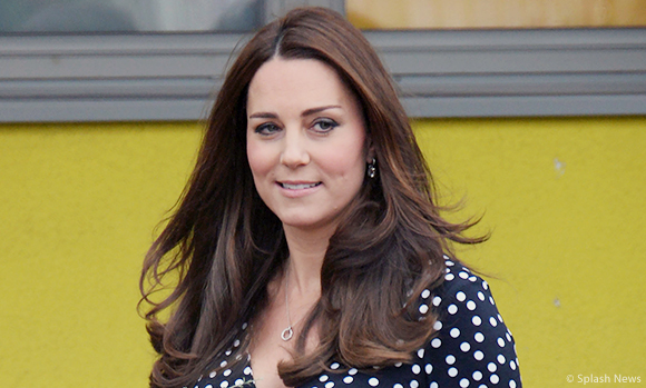 Duchess wears Asos maternity dress for visit to Home-Start's Brookhill Children's Centre in Woolwich