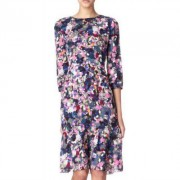 erdem darla dress in purple