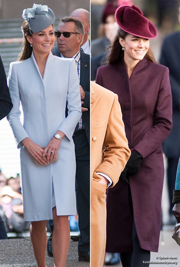 Is Kate's coat by Sarah Burton of Alexander McQueen