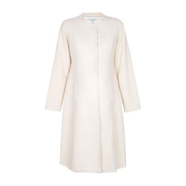 Jojo Maman Bebe Cream Maternity Coat as worn by Kate Middleton