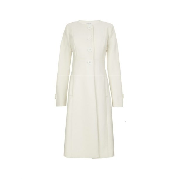 Jojo Maman Bebe Cream Maternity Coat as worn by Kate Middleton
