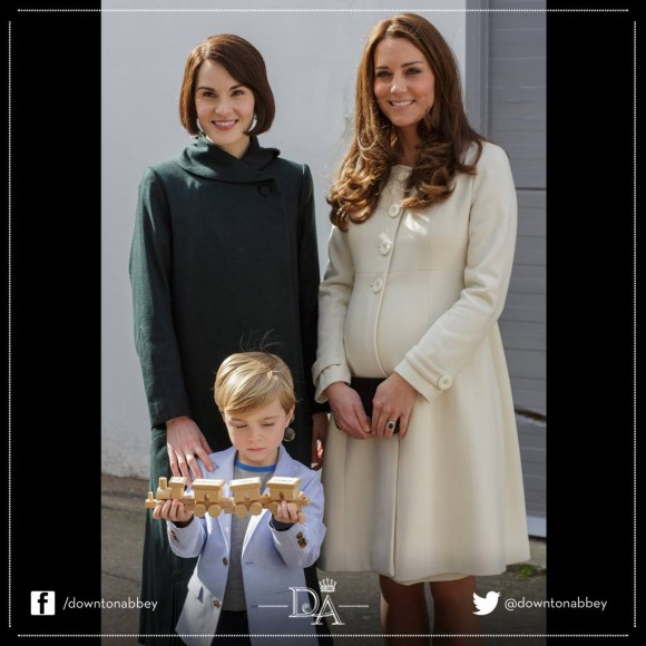 Lady Mary and Kate Middleton