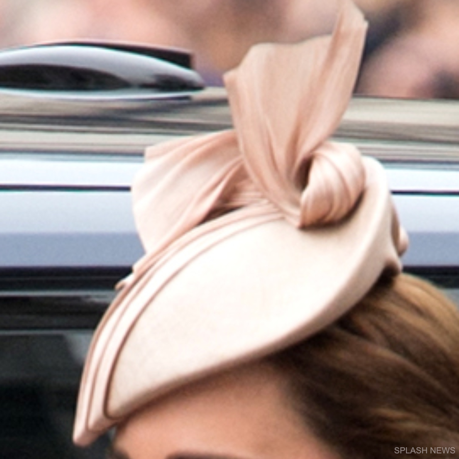 Kate Middleton's pink Jane Taylor hat