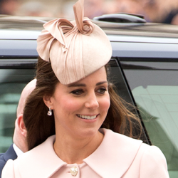Kate repeats pink Alexander McQueen coat for Commonwealth Observance service at Westminster Abbey