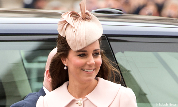 Kate wears pink Alexander McQueen outfit to Westminster Abbey Commonwealth Observance