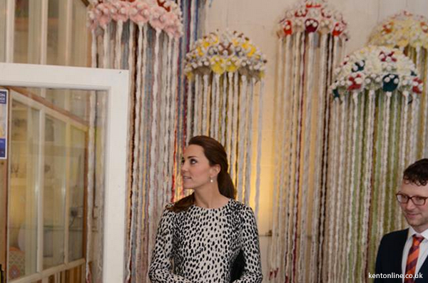 Kate meets with an artist who makes wool jellyfish