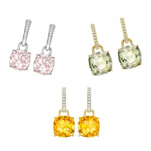 Kiki McDonough Classic cushion drop earrings