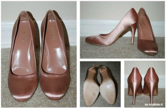 pink prada heels worn by Kate Middleton