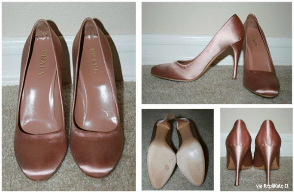 pink prada heels worn by Kate Middleton