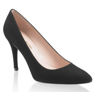 Stuart Weitzman Power in Black Suede