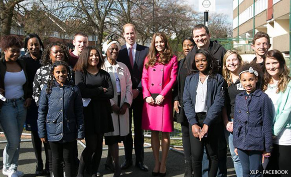 Duchess re-wears pink Mulberry coat for final engagements in South London