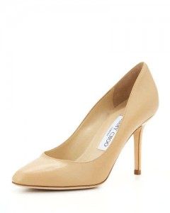 Jimmy Choo Gilbert Pumps in Nude