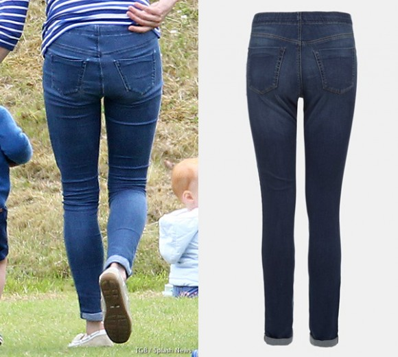 Kate Middleton Topshop Maternity Moto Leigh Jeans