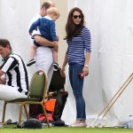 Duchess Kate dons sunglasses for polo match