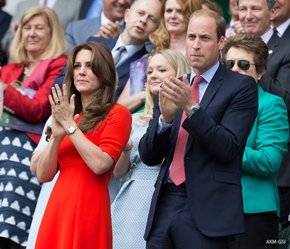 Kate Middleton wears the L.K. Bennett Cayla dress