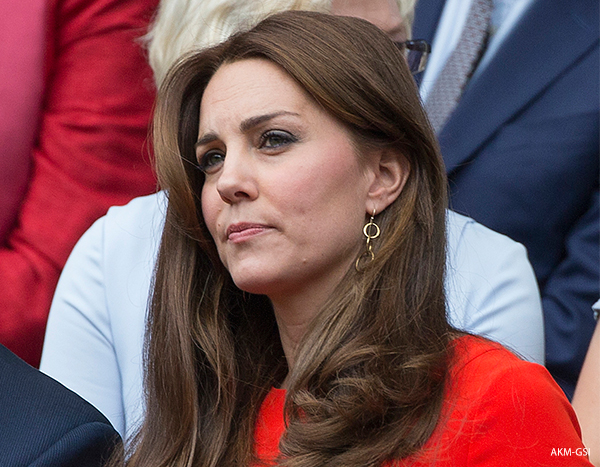 Duchess of Cambridge at Wimbledon