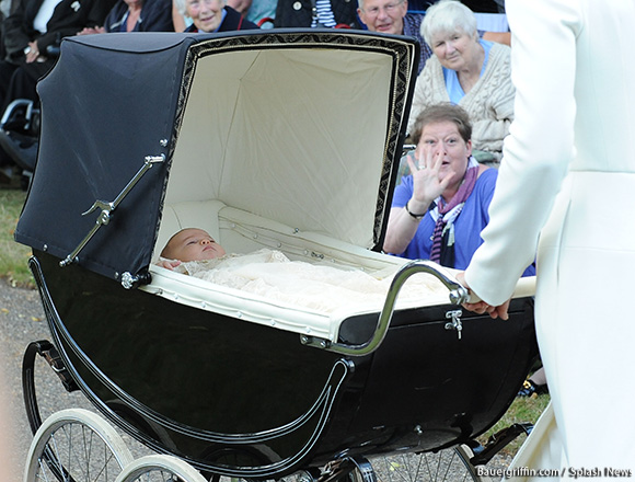 The Pram Princess Charlotte was in has a rich history
