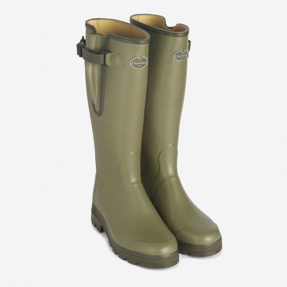 Le Chameau Vierzon leather lined boots