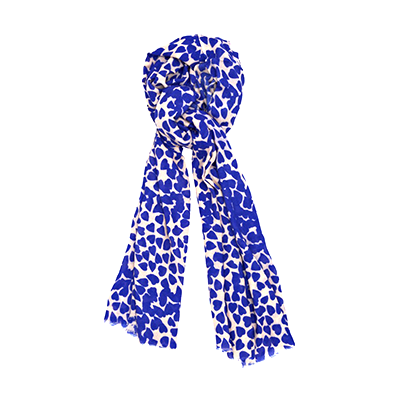 Beulah London Shibani Heart Print Scarf