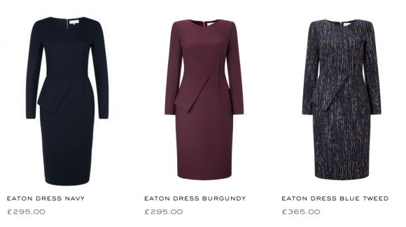 The Fold Eaton Dress in Other Colours