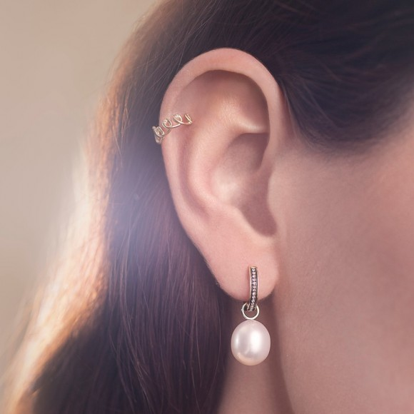Annoushka Baroque Pearl Drop Earrings