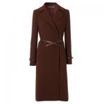Hobbs Celeste Coat in Chestnut Brown