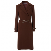 Hobbs Celeste Coat in Chestnut Brown