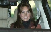 Duchess of Cambridge wears Hobbs Celeste coat at Balmoral Castle