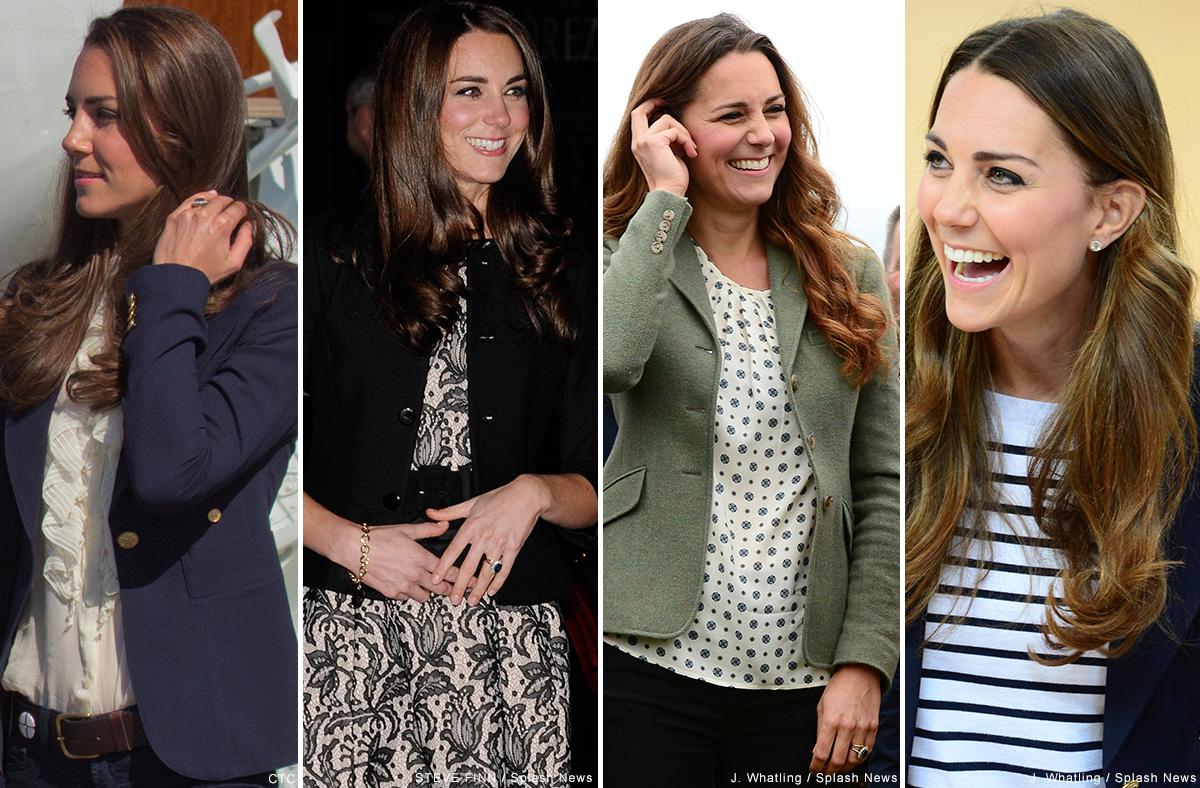 Examples of Kate Middleton wearing Ralph Lauren clothing