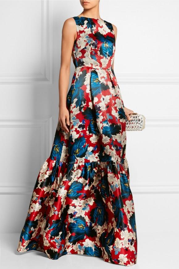 Erdem Alouette Silk Gown