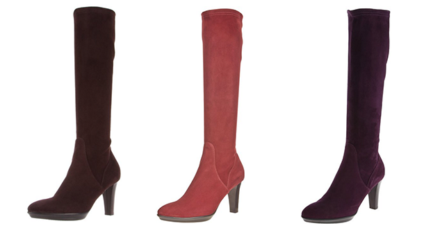 Aquatalia Rhumba boots in different colours