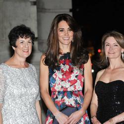Kate attends 100WHF Gala in printed floral Erdem dress