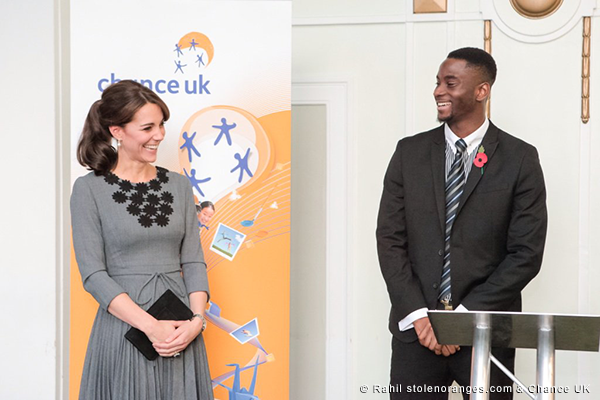 Duchess of Cambridge visits Chance UK
